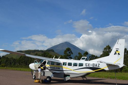 fly in to Kisoro, Gorillas, Volcanoes Trekking Safari (Fly-in)
