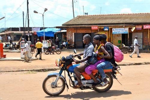 Classic Uganda Safari Boda Boda Ride